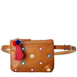 NWT Juicy Couture Black Label Embellished Belt Bag